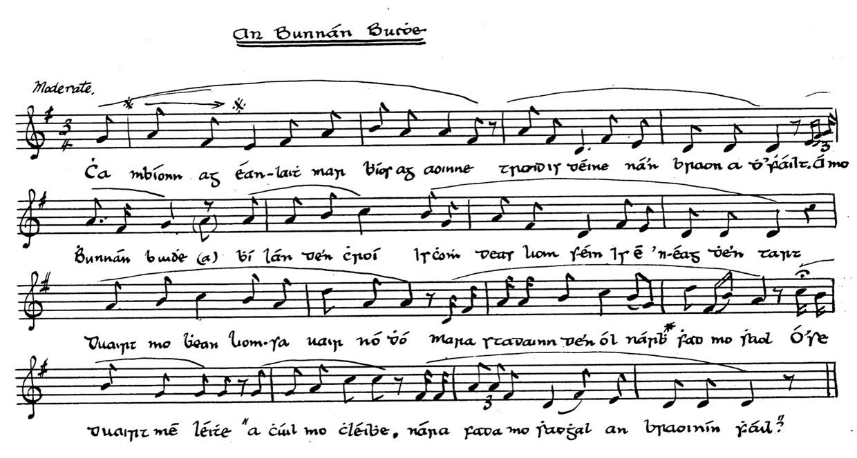 An Bonnán Buí music