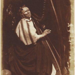 Blind harper Patrick Byrne