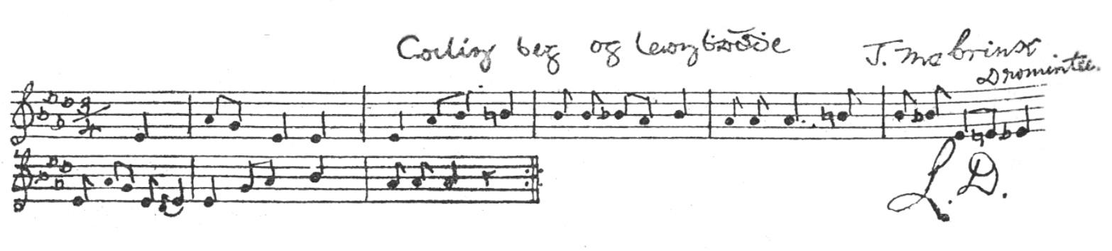 Music: Cailín as Contae Lú