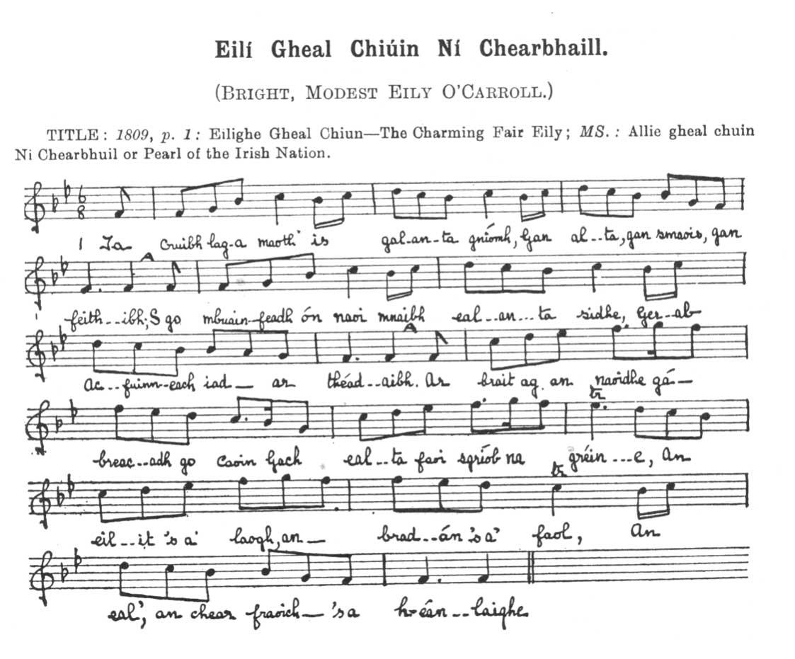 Eilí Gheal Chiúin Ní Chearbhaill