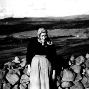 Last native Irish speaker in Oriel - Anna OHanlon