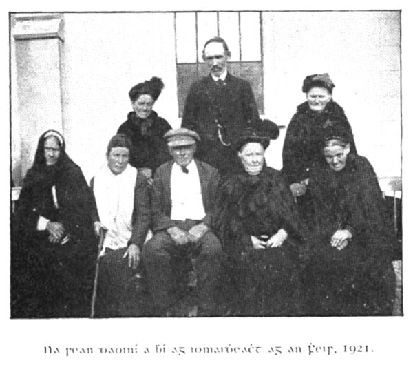 Omeath singers and storytellers in 1921