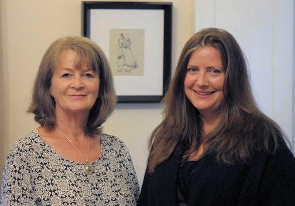 Pádraigín Ní Uallacháin and Sylvia Crawford