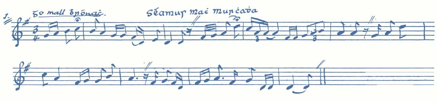 'Séamus Mach Murchadha' Luke Donnellan.Box 1 p.2 No 1(a) -one verse.