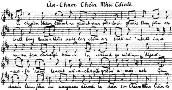 Úr-Chnoc Chéin Mhic Cáinte