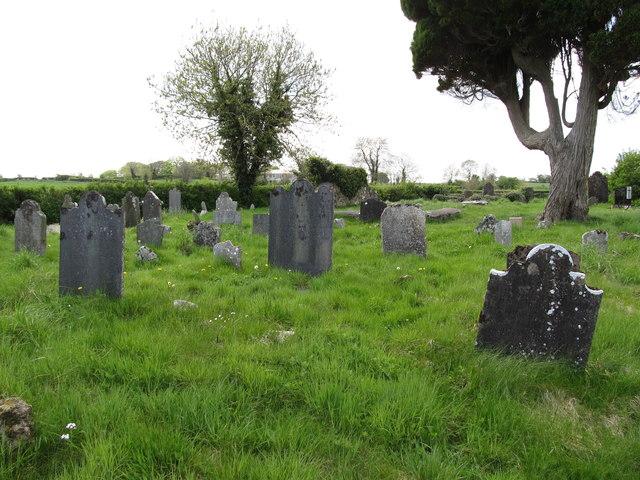 Urney Graveyard, south of Forkhill